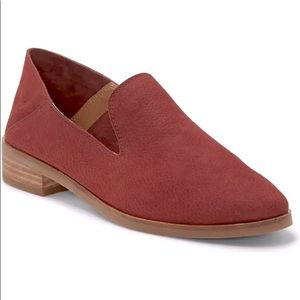 Lucky Brand Cahill Red Brick Soft Leather Flats